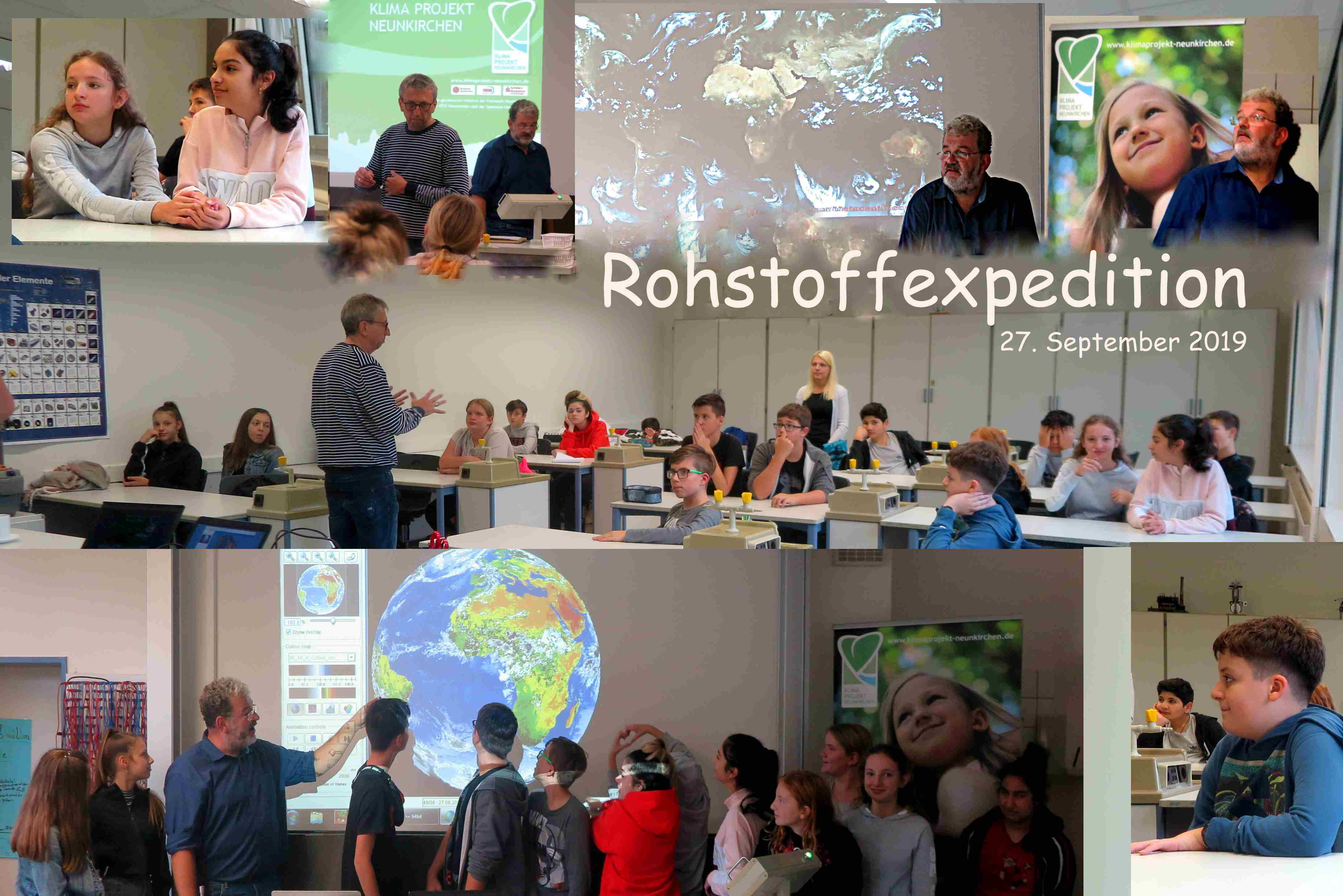 Verantwortung kommt nicht von ungefähr – Die Alex-Deutsch-Schule als Dauergast bei der Rohstoffexpedition