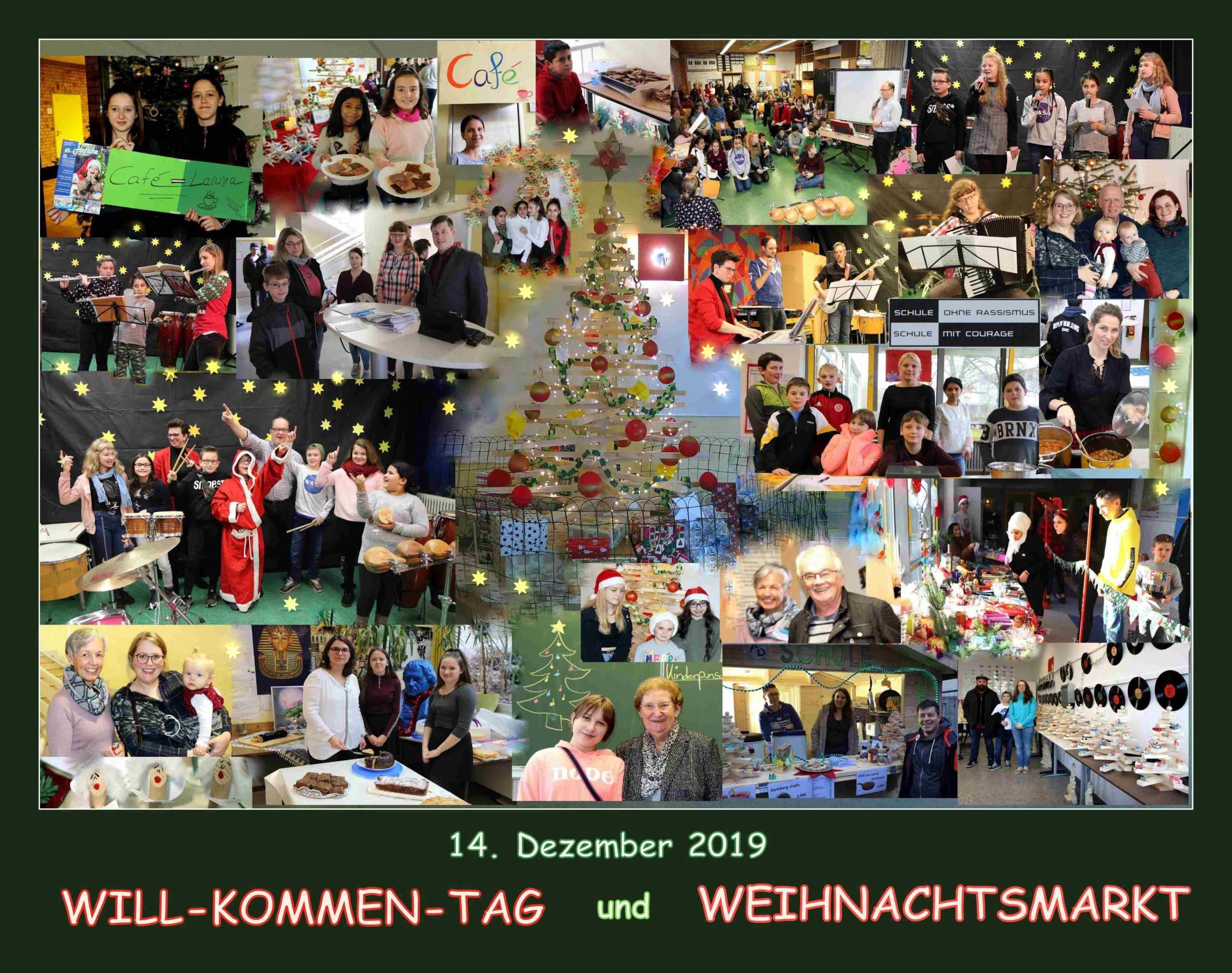 Weihnachtsmarkt, Willkommentag und beste Feierlaune – Die Alex-Deutsch-Schule stellte sich vor